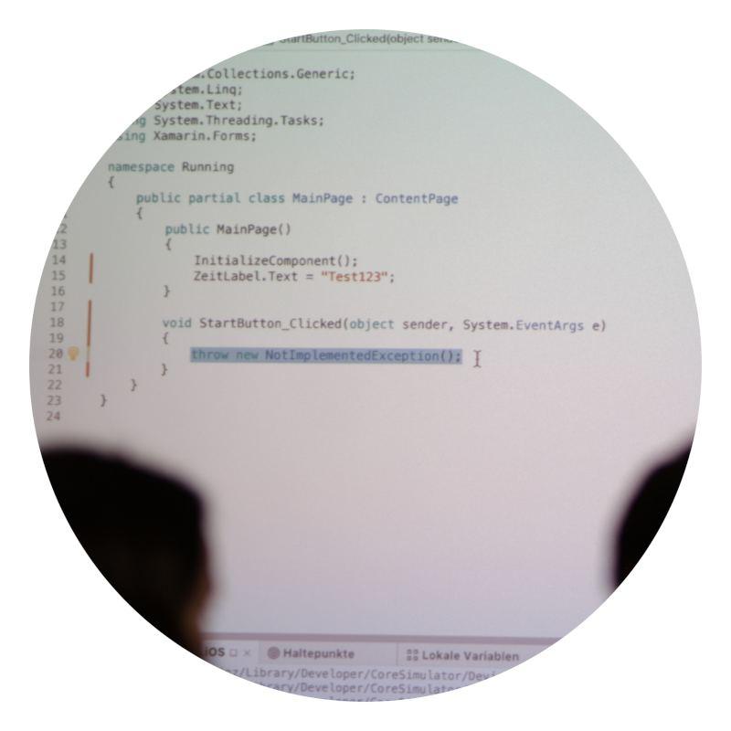 App-Entwicklung mit C#
