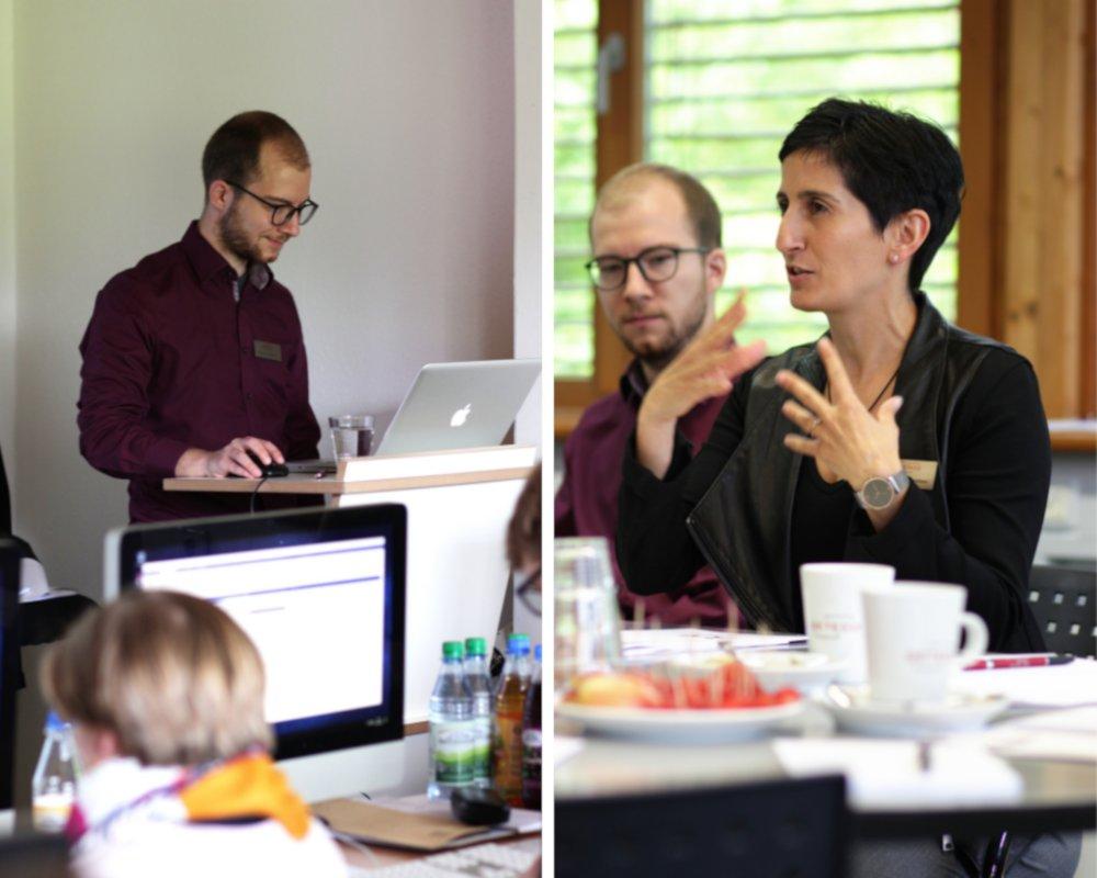Geschäftsführerin Concetta Prinz-Guardabasso und das Projekt-Team